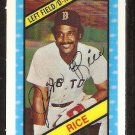 1980 Kelloggs 3-d Super Stars # 44 Boston Red Sox Jim Rice