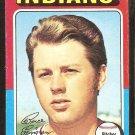 1975 Topps # 288 Cleveland Indians Bruce Ellingsen vg