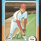 1975 Topps # 292 Philadelphia Phillies Ron Schueler vg