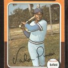 1975 Topps # 295 Kansas City Royals Vada Pinson good