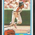 1981 Topps # 105 Houston Astros Jose Cruz