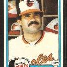 1981 Topps # 101 Baltimore Orioles Benny Ayala