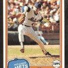 1981 Topps # 93 New York Mets Ed Glynn