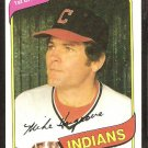 1980 Topps # 308 Cleveland Indians Mike Hargrove