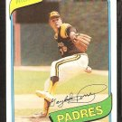 1980 Topps # 280 San Diego Padres Gaylord Perry