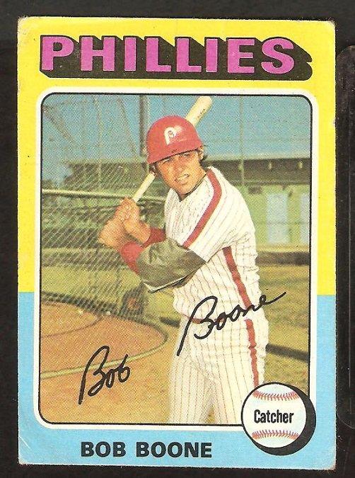 1975 Topps # 351 Philadelphia Phillies Bob Boone