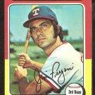 1975 Topps # 339 Texas Rangers Jim Fregosi
