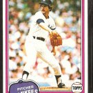 1981 Topps # 114 New York Yankees Tom Underwood nr mt