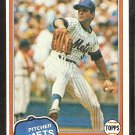 1981 Topps # 117 New York Mets Pete Falcone nr mt