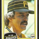 1981 Topps # 118 Pittsburgh Pirates Kurt Bevacqua nr mt