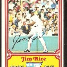 1981 Drakes Big Hitters Boston Red Sox Jim Rice # 8