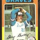 1975 Topps # 393 Atlanta Braves Gary Gentry ex