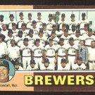 1975 Topps # 384 Milwaukee Brewers Team Card unmarked cl vg/ex