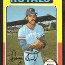 1975 Topps # 364 Kansas City Royals Doug Bird vg
