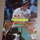 1985 Boston Red Sox Season Ticket Flyer Bill Buckner Marty Barrett