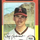 1975 Topps # 417 California Angels Skip Lockwood vg+