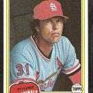 1981 Topps # 140 St Louis Cardinals Bob Forsch nr mt