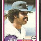 1981 Topps # 39 New York Yankees Oscar Gamble nr mt