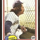 1981 Topps # 135 Milwaukee Brewers Gorman Thomas nr mt