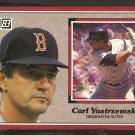 1983 Donruss Action All Star # 44 Boston Red Sox Carl Yastrzemski