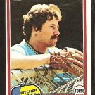 1981 Topps # 156 Milwaukee Brewers Bob McClure nr mt