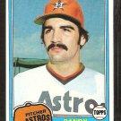 1981 Topps # 148 Houston Astros Randy Niemann nr mt