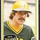 1981 Topps # 147 Pittsburgh Pirates Dale Berra nr mt