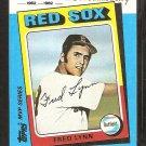 1982 Kmart # 27 Boston Red Sox Fred Lynn nr mt