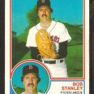 1983 O Pee Chee OPC Boston Red Sox Bob Stanley nr mt