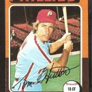 1975 Topps # 477 Philadelphia Phillies Tom Hutton vg/ex