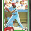 1981 Topps # 160 Philadelphia Phillies Garry Maddox nr mt
