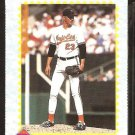 1990 Topps The Magazine Card # TM15 Baltimore Orioles Ben McDonald nr mt