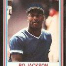 1990 Post Cereal Card # 14 Kansas City Royals Bo Jackson nr mt