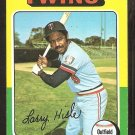 1975 Topps Baseball Card # 526 Minnesota Twins Larry Hisle ex