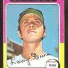 1975 Topps Baseball Card # 557 New York Yankees Larry Gura g/vg