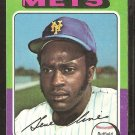 1975 Topps Baseball Card # 575 New York Mets Gene Clines good