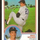 1983 Topps Traded # 15T  Boston Red Sox Mike Brown