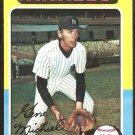 1975 Topps Baseball Card # 608 New York Yankees Gene Michael ex