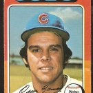 1975 Topps Baseball Card # 604 Chicago Cubs Oscar Zamora good