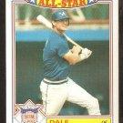 1987 Topps Glossy All Star Baseball Card # 7 Atlanta Braves Dale Murphy nr mt