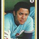 1978 Topps Baseball Card # 15 Montreal Expos Tony Perez nr mt