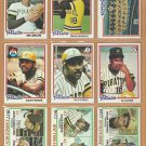 1978 Topps Pittsburgh Pirates Team Lot 26 Stargell Dave Parker Al Oliver Moreno  Team +