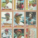 1979 Topps Boston Red Sox Team Lot 27 Yastrzemski Jim Rice Eckersley Team +