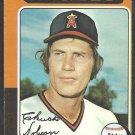1975 Topps Baseball Card # 635 California Angels Chuck Dobson vg