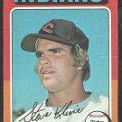 1975 Topps Baseball Card # 639 Cleveland Indians Steve Kline vg