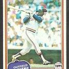 1981 Topps Baseball Card # 222 Cleveland Indians Jorge Orta ex/nm