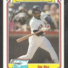 1984 Drakes Big Hitters # 25 Boston Red Sox Jim Rice vg/ex