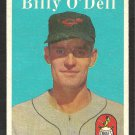BALTIMORE ORIOLES BILLY ODELL 1958 TOPPS # 84 EX