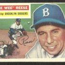 BROOKLYN DODGERS PEE WEE REESE 1956 TOPPS # 260 EX