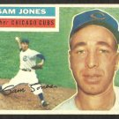 CHICAGO CUBS SAM JONES 1956 TOPPS # 259 VG